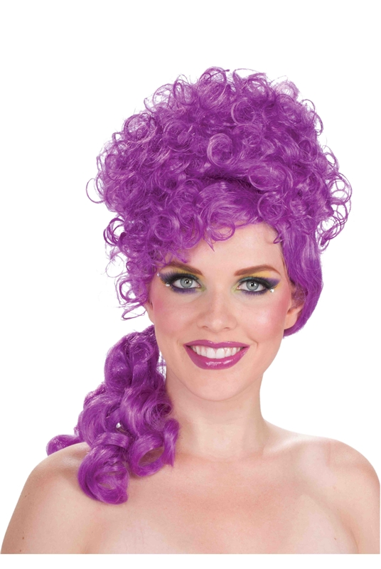 Circus Sweetie Purple Wig