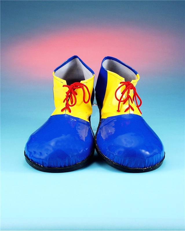 Image of Clown Shoes Vinyl Blue/Yellow
