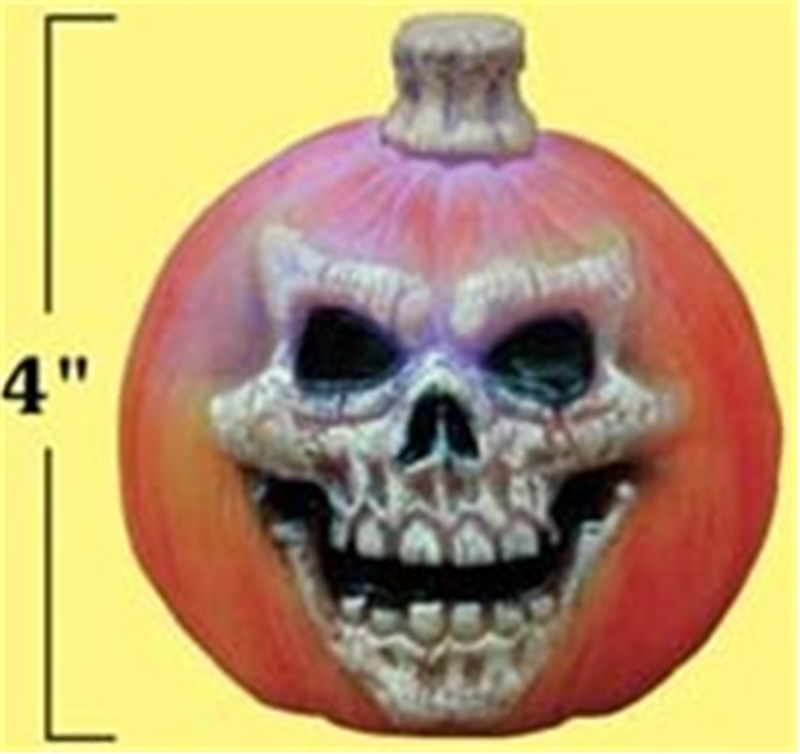 Color Changing Spooky Pumpkin