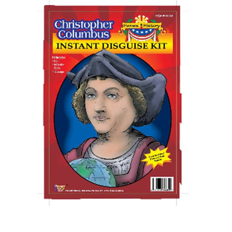 Christopher Columbus Disguise Kit