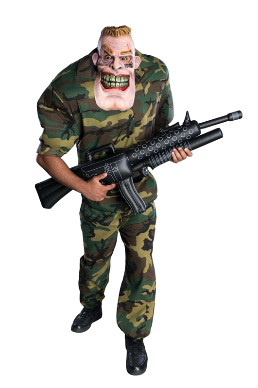 Corporal Punishment Solider Adult Costume