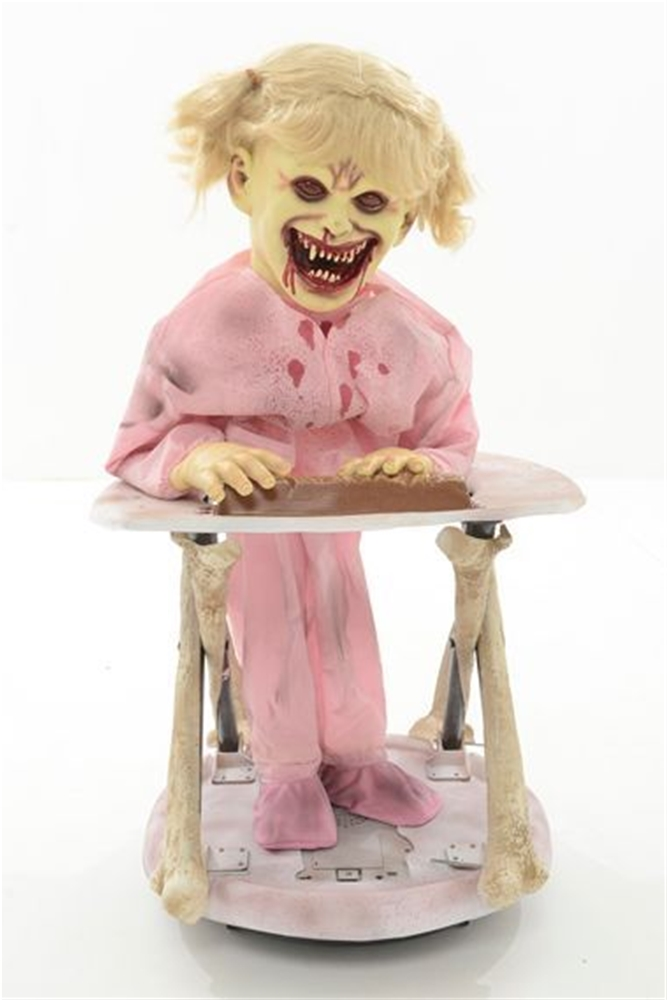 Cruisin Candice Zombie Baby Animated Prop