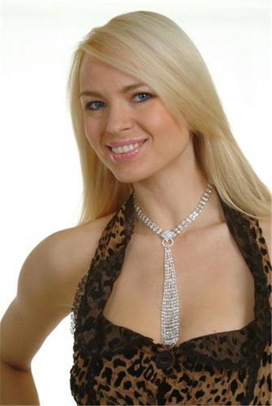 Crystal Tie Choker Necklace