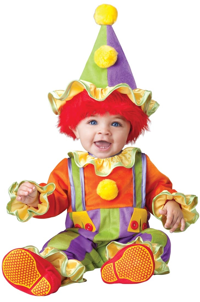 Cuddly Clown Infant & Toddler Costume
