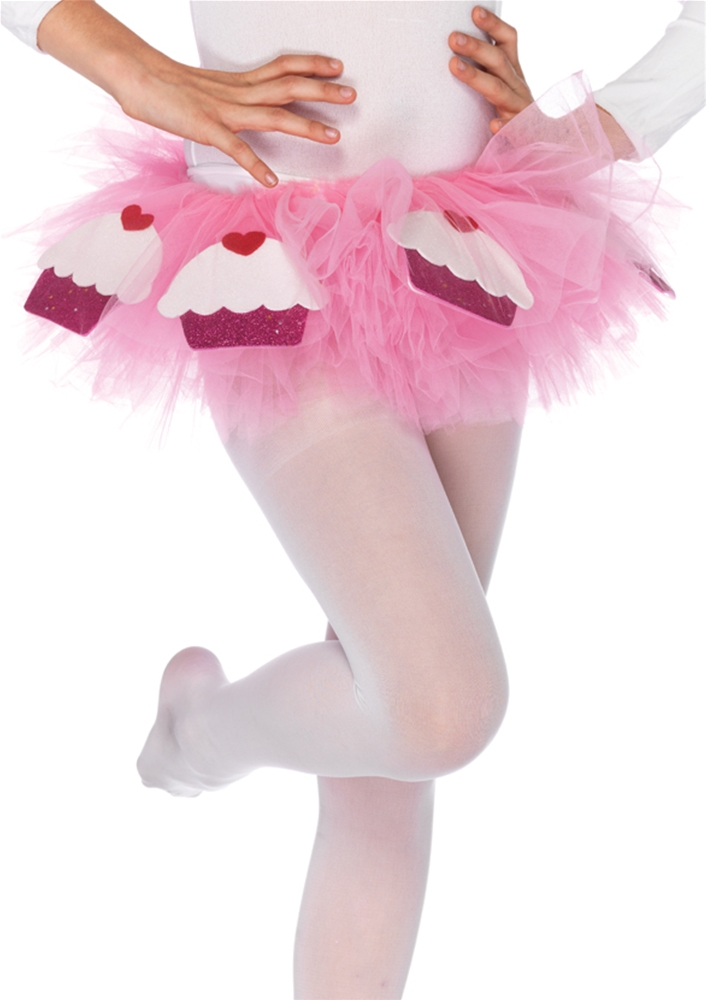 Cupcake Child Tutu With Satin Bow Accent