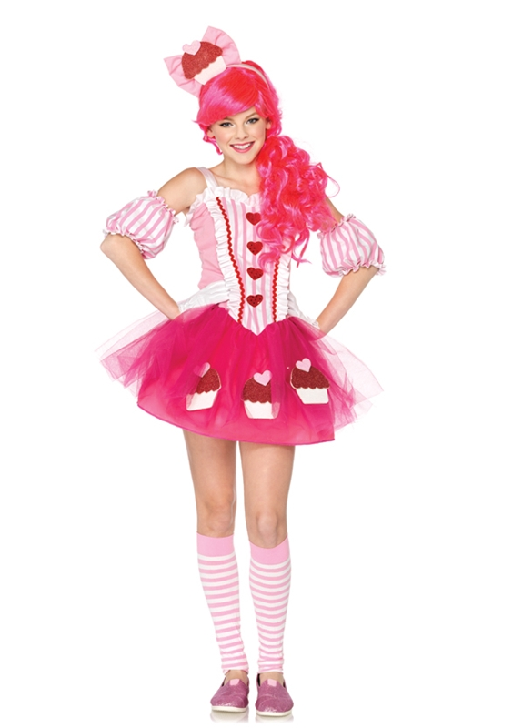 Cupcake Sweetie Juniors Costume