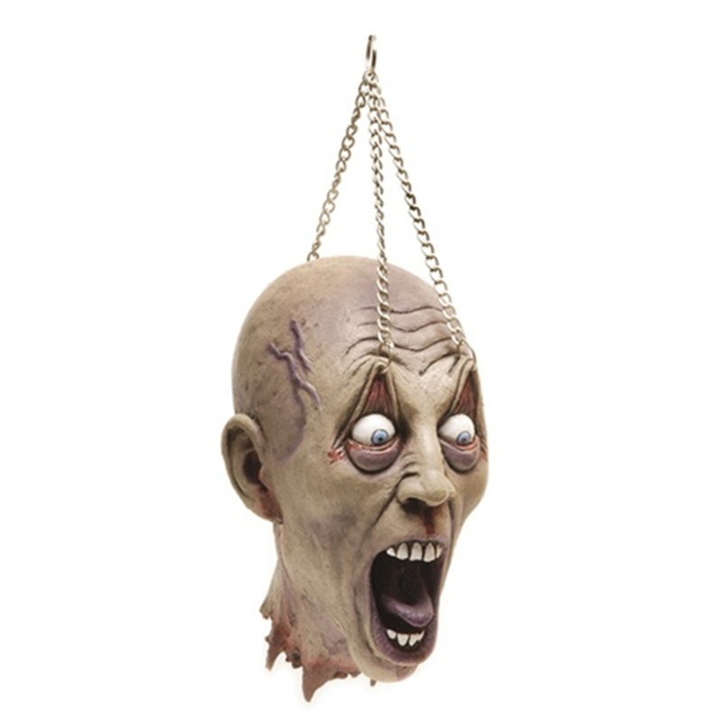 Cut Off Head Eyelid Hanging Prop