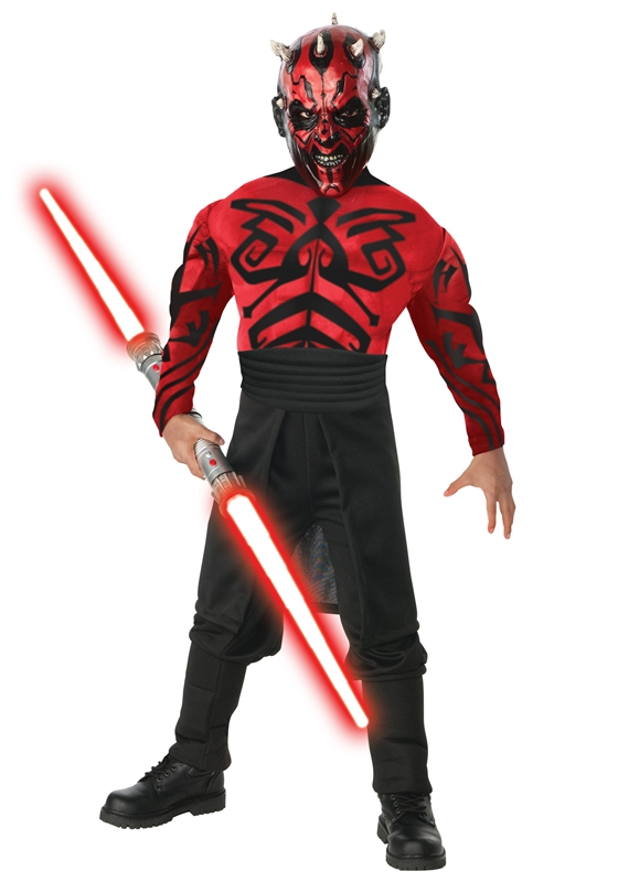 Star Wars Darth Maul Muscle Deluxe Child Costume