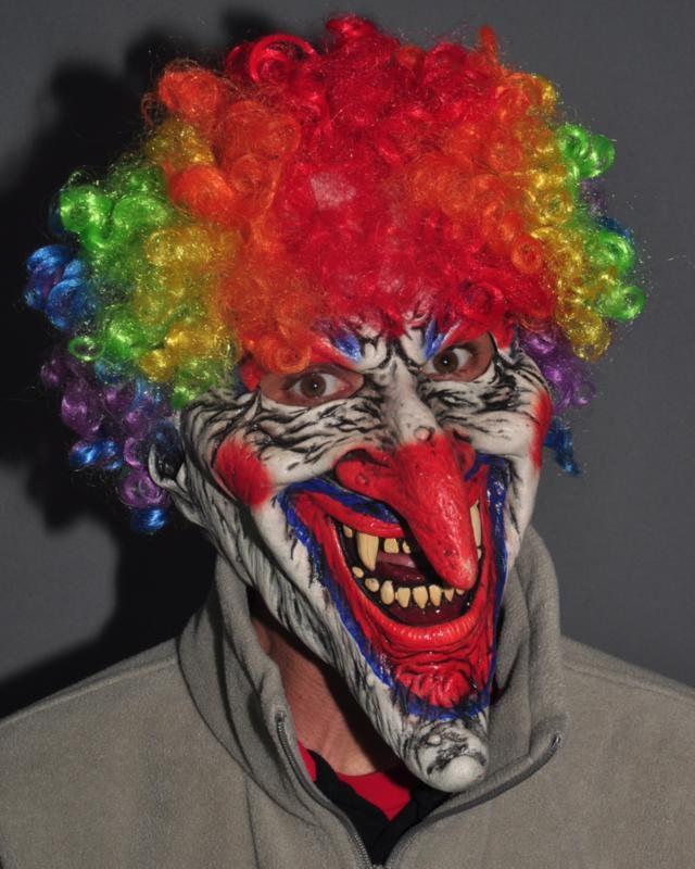 Dastardly Clown Adult Mask