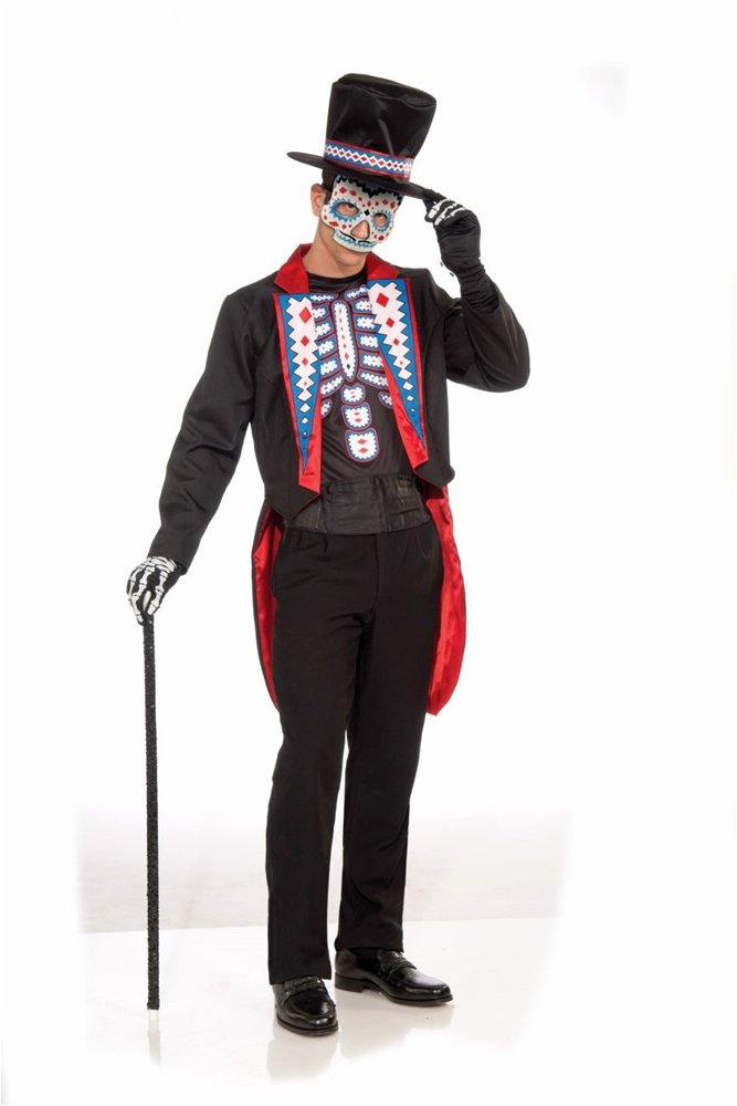 Day Of The Dead Adult Mens Costume