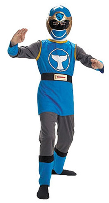 Deluxe Blue Ranger Child Costume