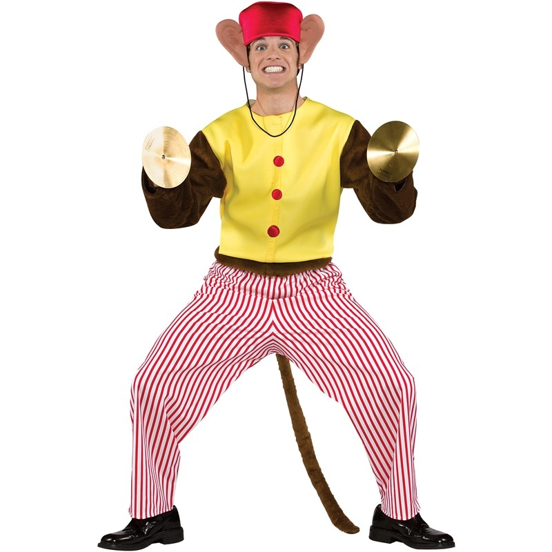 Monkey Playing Cymbals Costume Deluxe Cymbal Monkey Costume