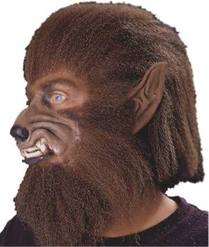 Deluxe Werewolf Brown Hair