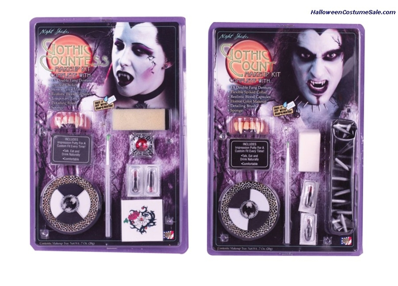 Deluxe Night Shades Goth Makeup