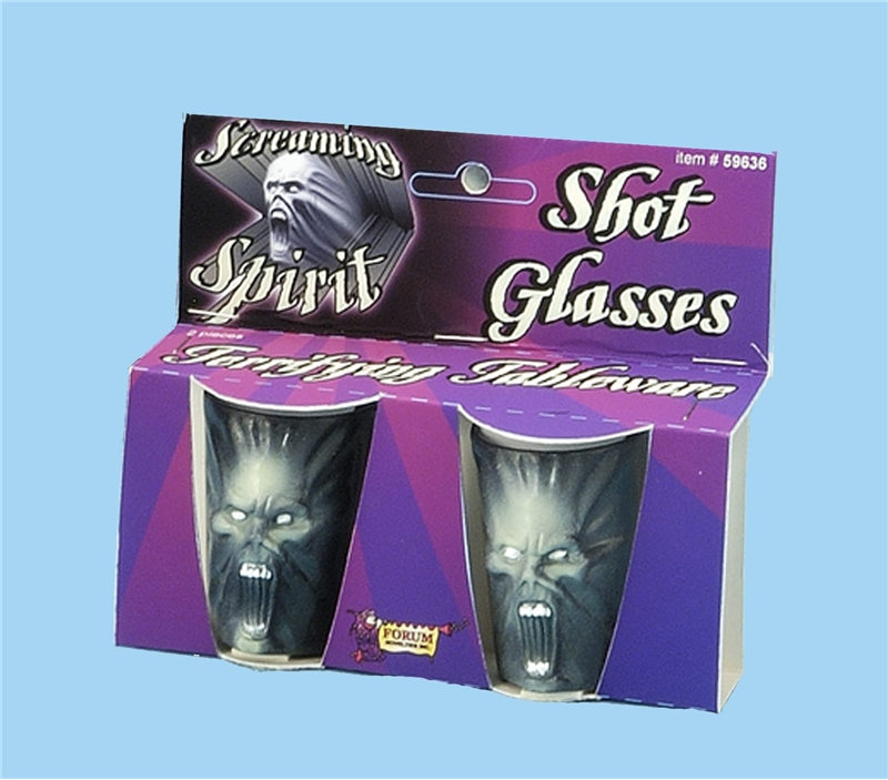 Deluxe Screaming Spirit Shot Glass