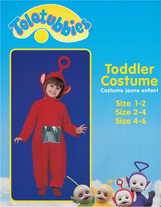 Teletubbies Po Child Costume