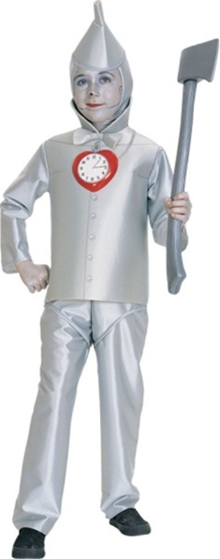 Deluxe Tin Man Wizard Of Oz Child Costume