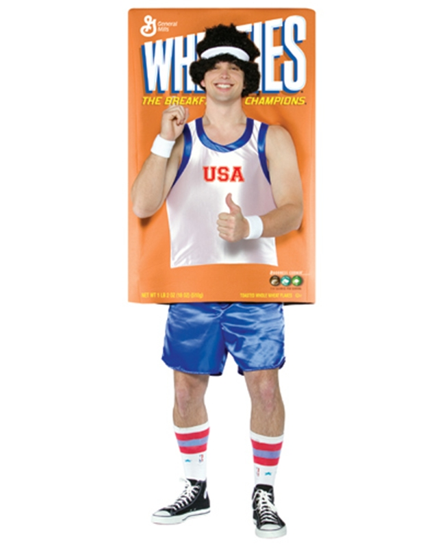 Deluxe Wheaties Cereal Adult Costume