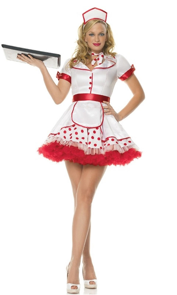 Diner Betty Adult Womens Costume