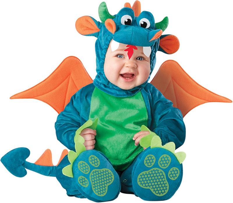 [Dinky Dragon Baby Costume] (Dinky Dragon Baby Costumes)