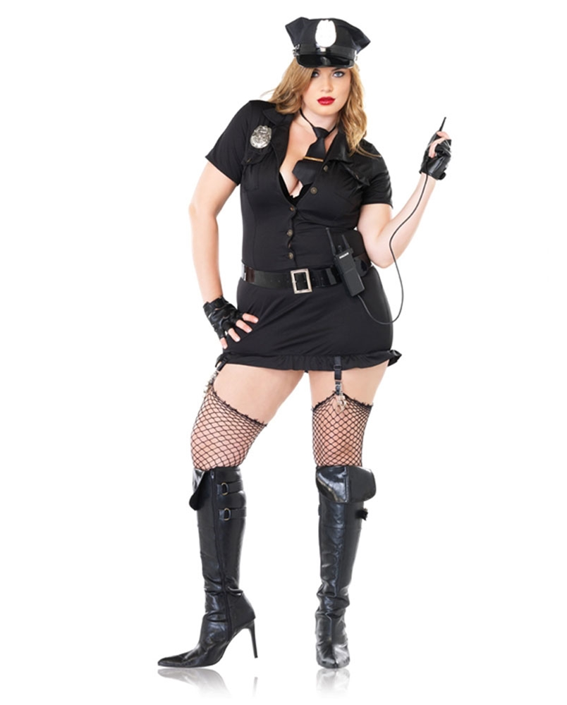 Dirty Cop Plus Size Adult Womens Costume