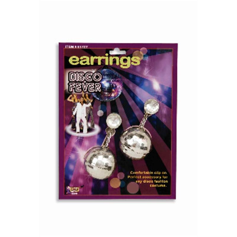 Купить Disco Ball Silver Earrings