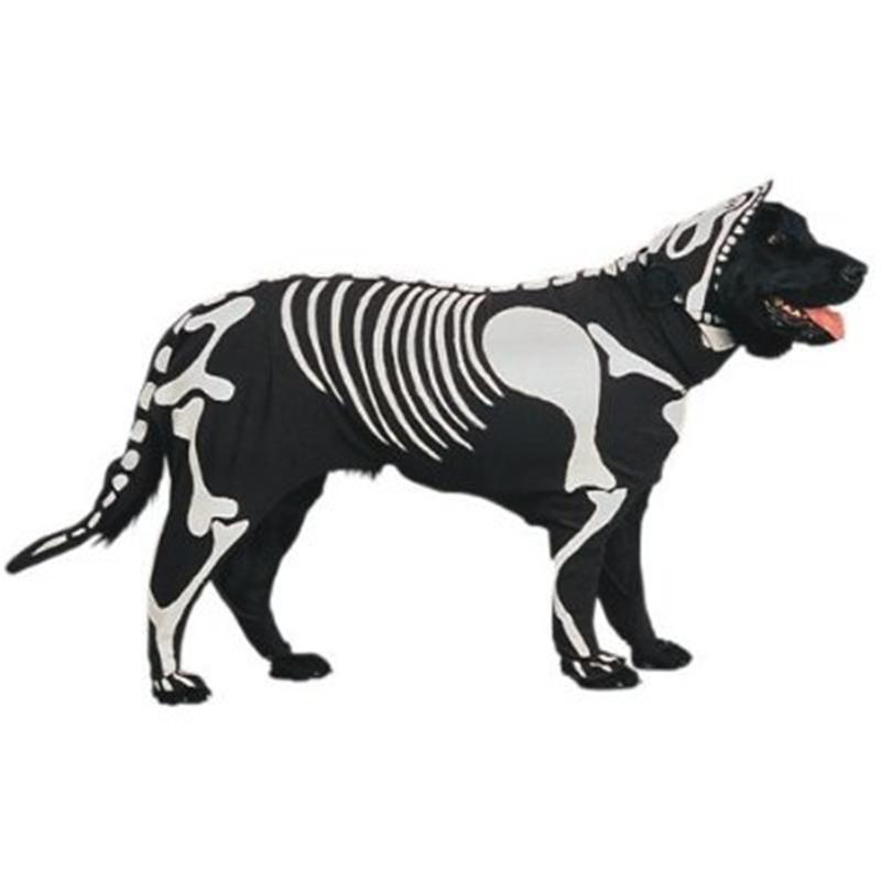 Image of Doggie Bones Pet Costume