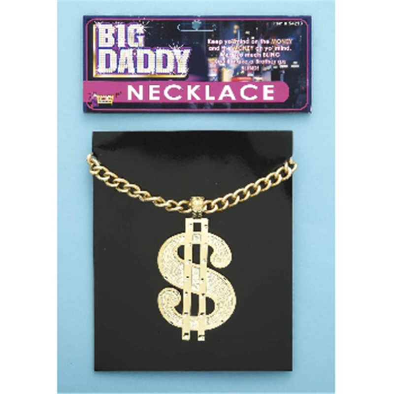 Dollar Necklace by Forum Novelties
