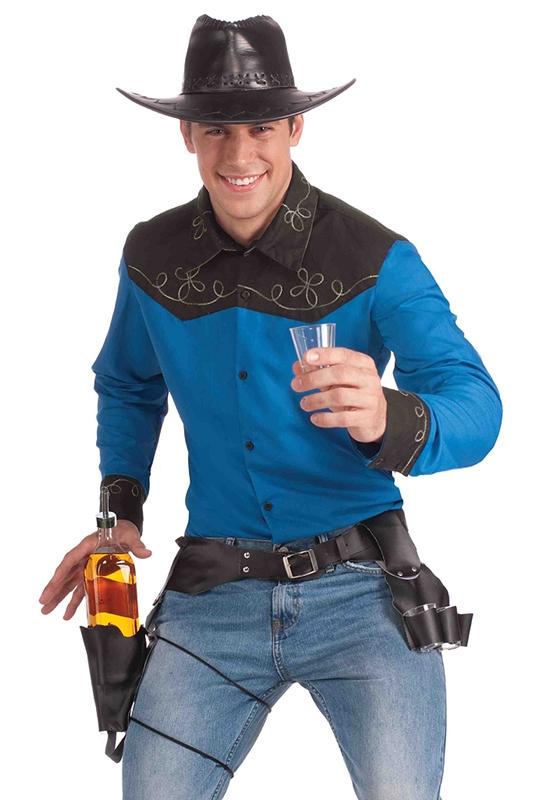 Western Drink Slinger Belt