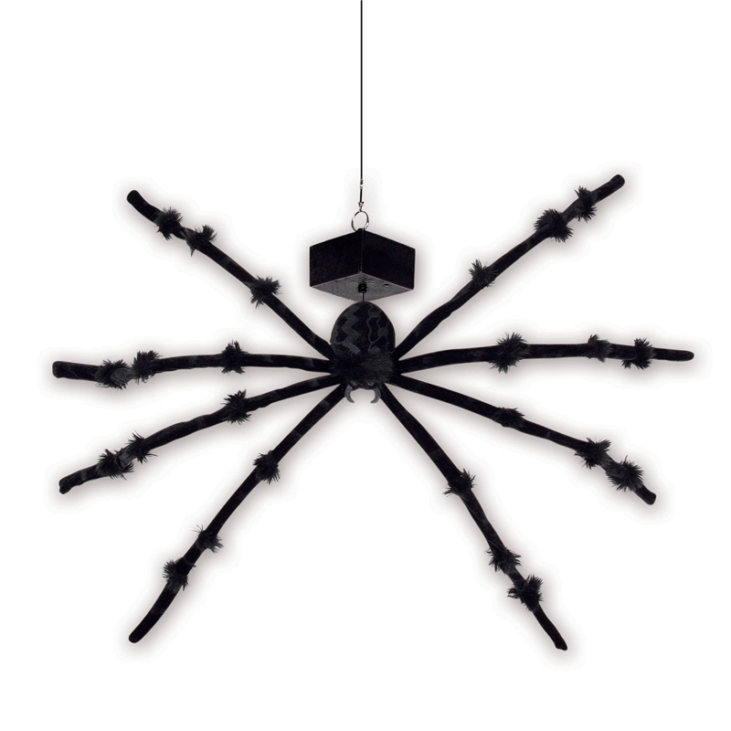 Dropping Spider with Sound Prop