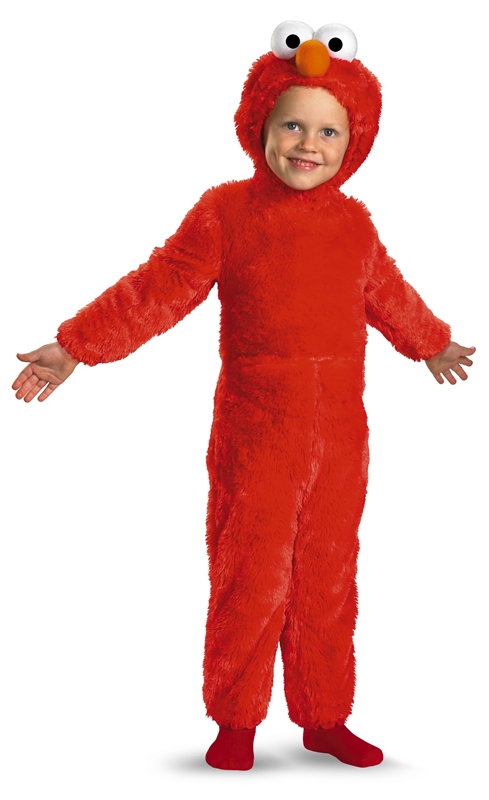Elmo Plush Jumpsuit Infant & Toddler Costume