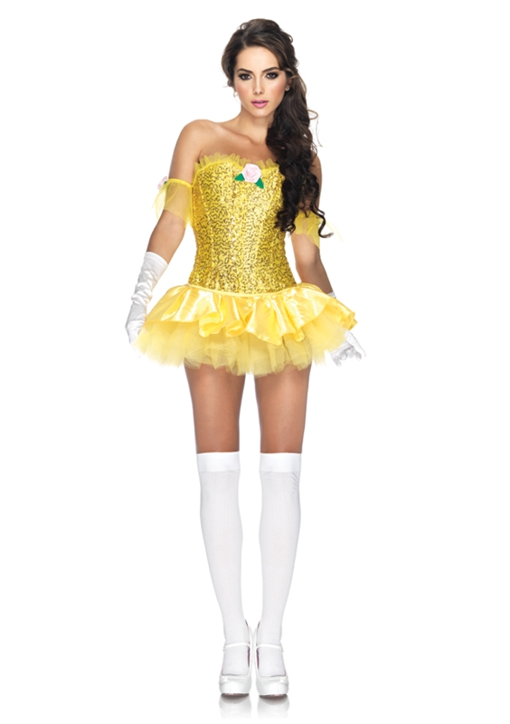 Enchanted Beauty Sassy Adult Womens Costume by Leg Avenue