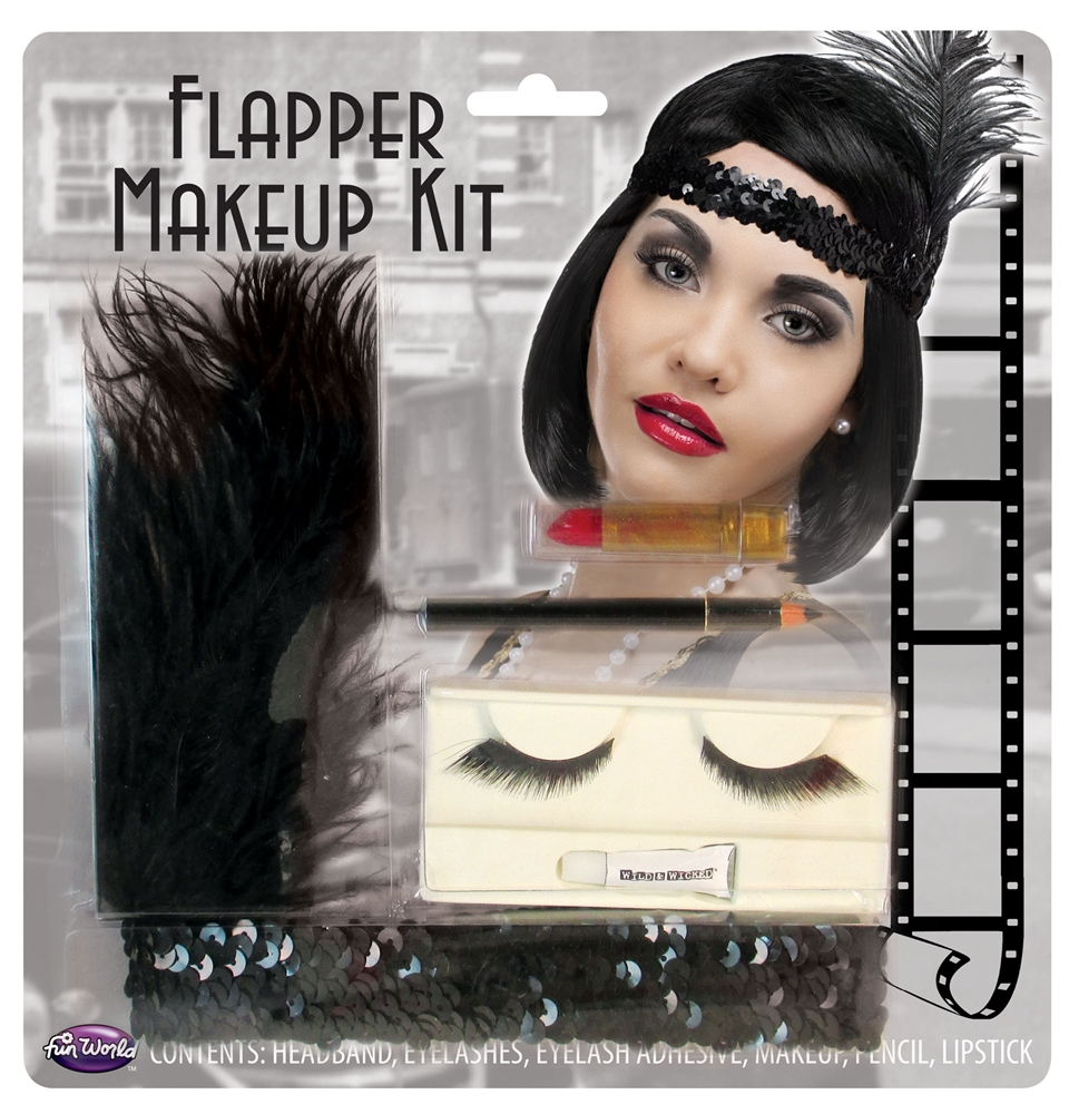 Era Flapper Makeup Kit by Fun World