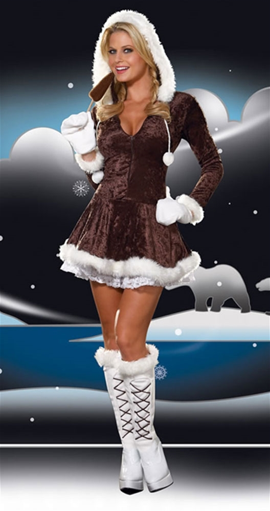 Eskimo Cutie Sexy Adult Women Costume