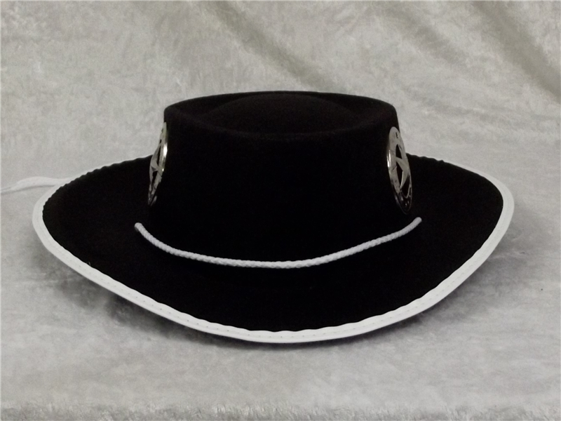 Cowboy Black Child Hat by Jacobson Hat Co