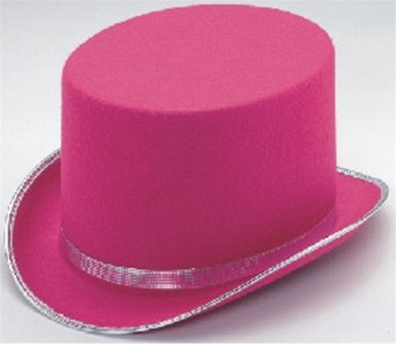 Pink Top Hat Adult by Jacobson Hat Co