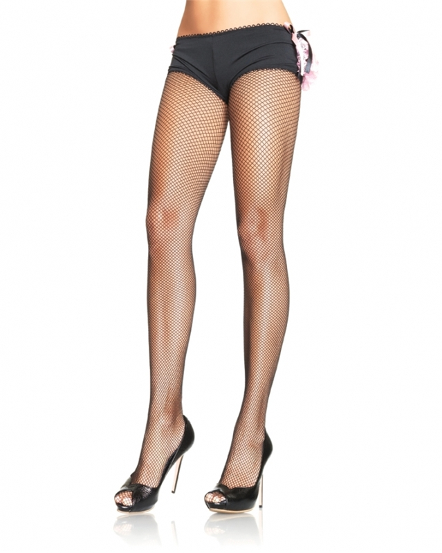 Black Plus Size Fishnets by Leg Avenue