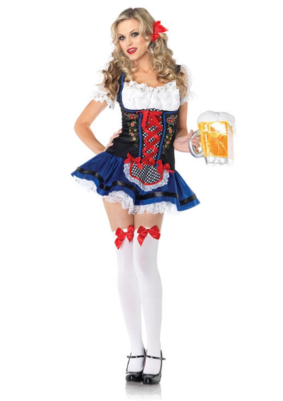 Flirty Frauline Adult Womens Costume