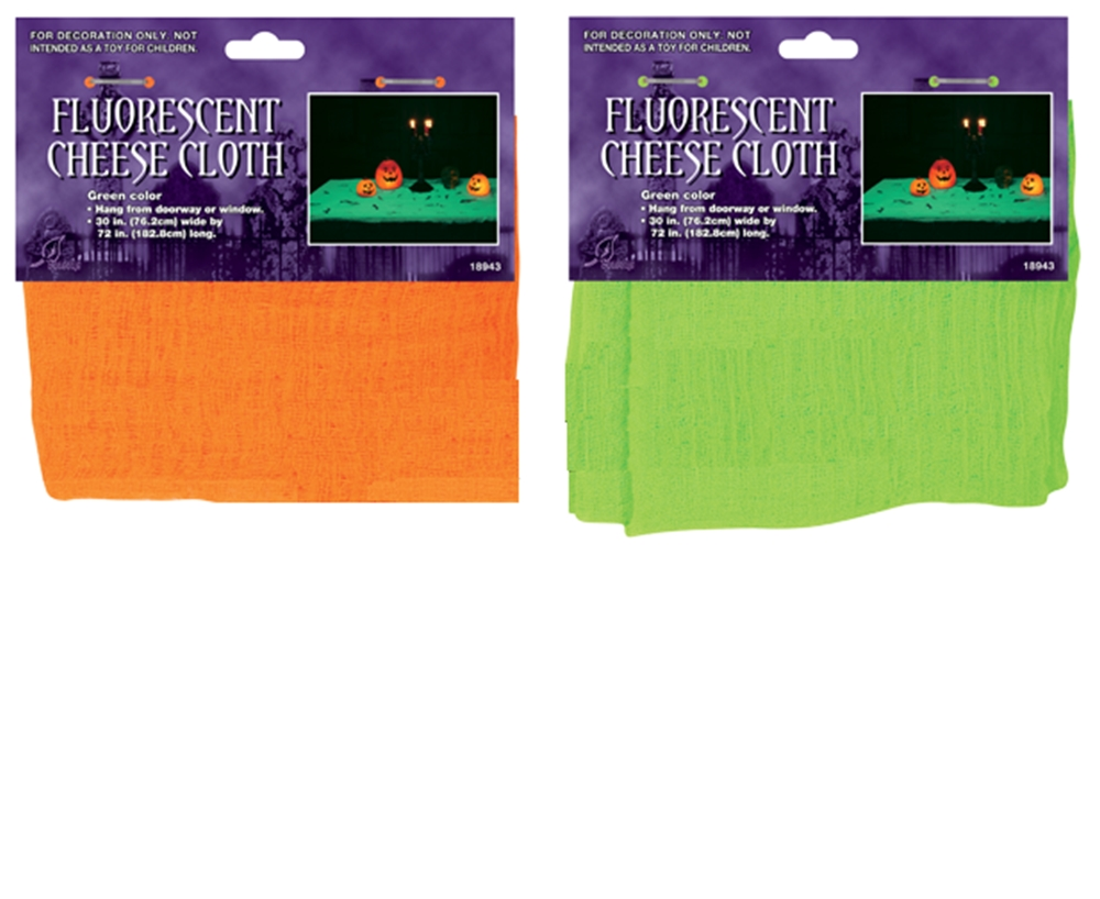 Fluorescent Cheese Cloth