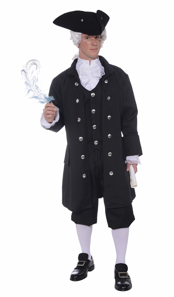 Founding Father Adult Mens Costume (Founding Fathers Costumes)