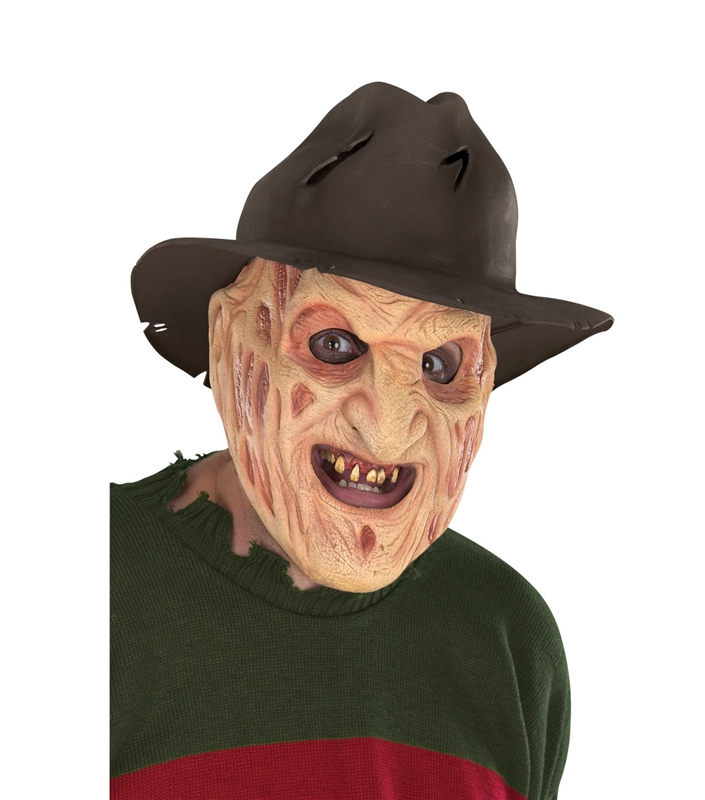 Freddy Foam Latex Mask by Rubies