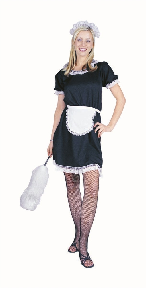 French Maid Adult Womens Costume