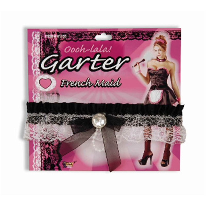 French Maid Leg Garter