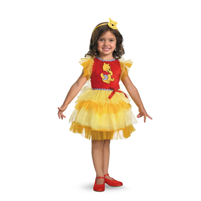 Frilly Winnie The Pooh Toddler Costume
