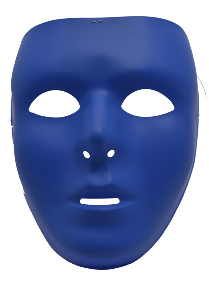 Full Face Blue Mask