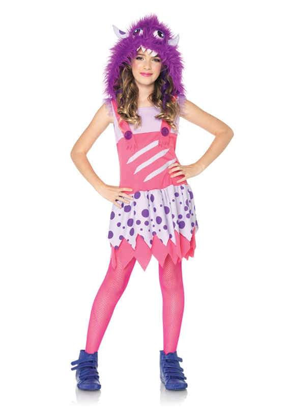 Furball Fergie Monster Child Girl Costume