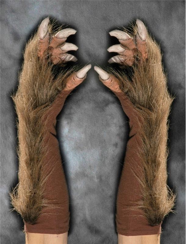 Super Wolf Adult Gloves