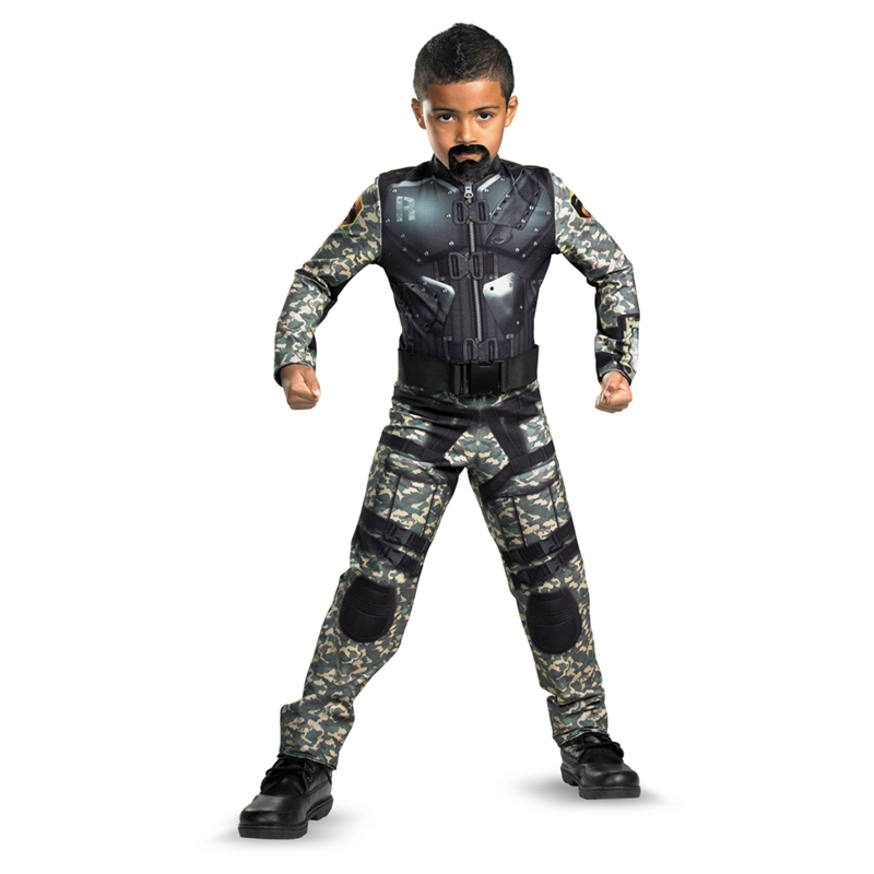 GIJOE Roadblock Muscle Child Costume