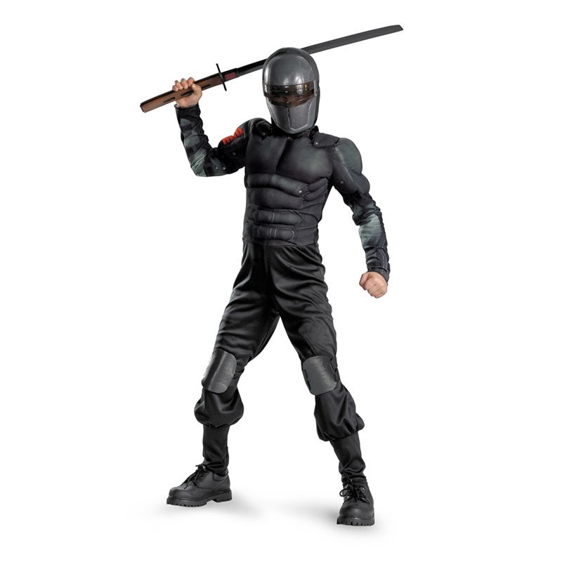 GI Joe Snake Eyes Classic Muscle Child Costume by Disguise