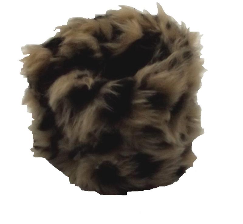 Купить Leopard Critter Faux Fur Bracelet